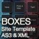 Boxes AS3 XML Template - ActiveDen Item for Sale