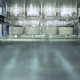 Fast Production Line Of Disposable Food Containers Inside Of Plant