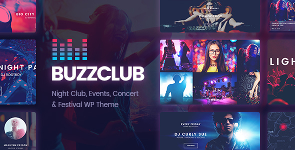 Download Buzz Club - Night Club, DJ & Music Festival Event WordPress Theme nulled download