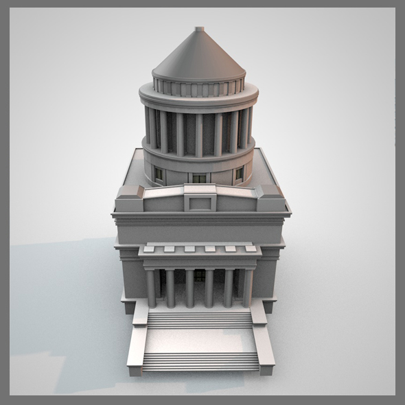 Ulysses S. Grant's Tomb - 3DOcean Item for Sale