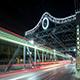 Night City Bridge Road Traffic Toronto