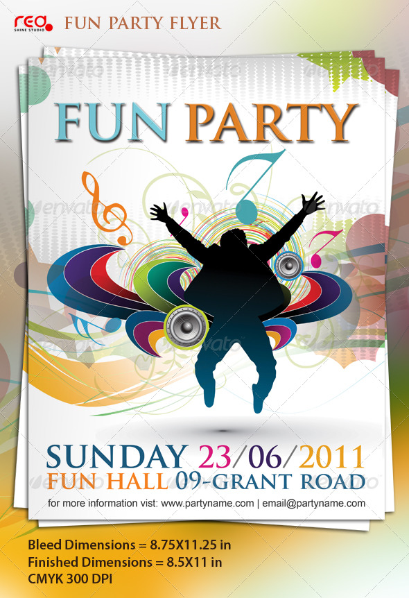 GraphicRiver Beautiful Music Party Poster Flyer Template 209755