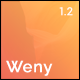 Weny - Responsive Coming Soon Template