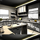 Realistic Modular Kitchen 164