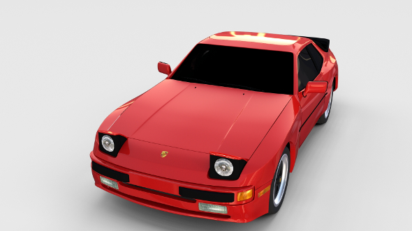 Porsche 944 new rev - 3DOcean Item for Sale