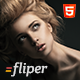 Photo Fullscreen Website Template - Fliper