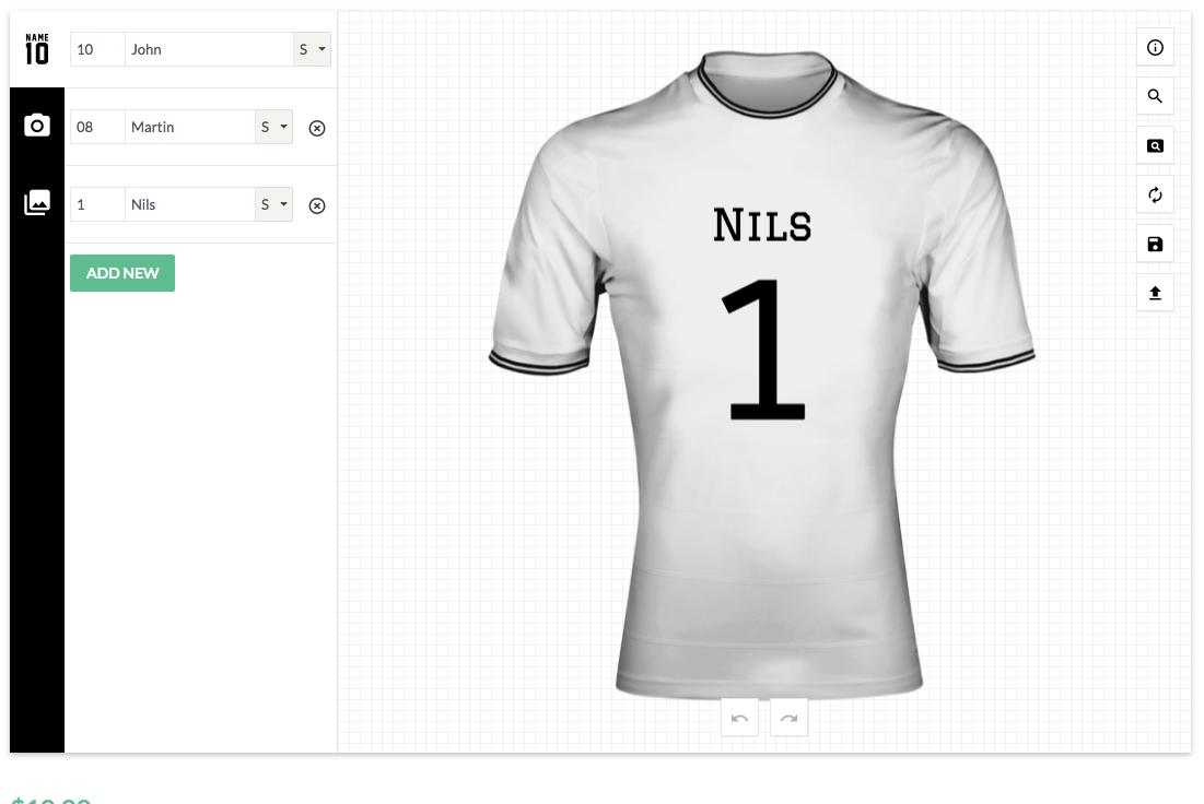 Shirt design jquery - Screenshots 01_name_number Png