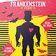 Frankenstein Halloween Flyer Template