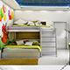 Modern Kids bedroom 171