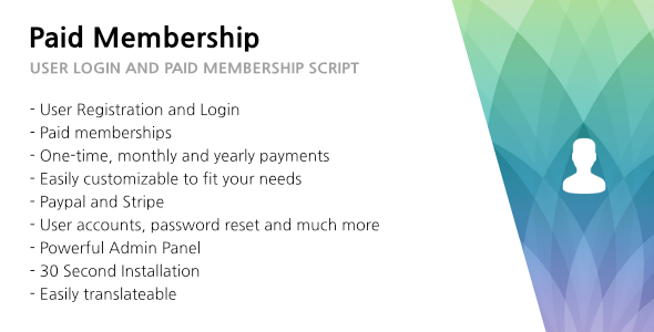 Download 321 Paid Membership - User Login and Paid Membership nulled download