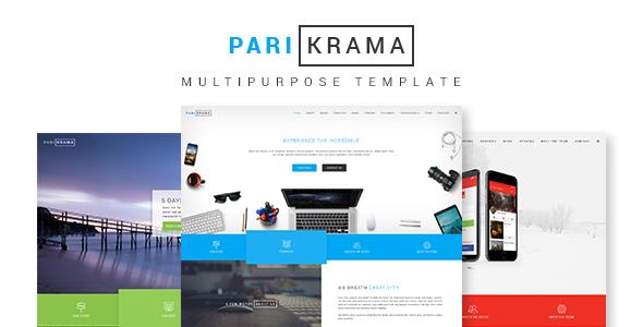 Parikrama - One Page Multipurpose Template
