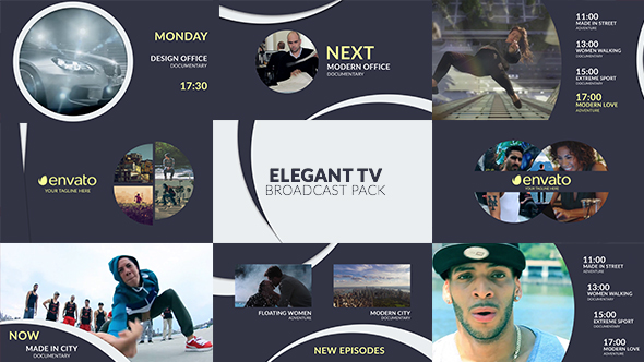 Elegant TV – Full Broadcast Pack (Miscellaneous) After