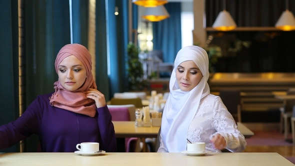Download Two Beautiful Muslim Girl In Cafe nulled download