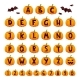 Halloween Font Alphabet Vector Set