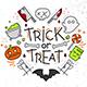 Halloween Flat Monograms