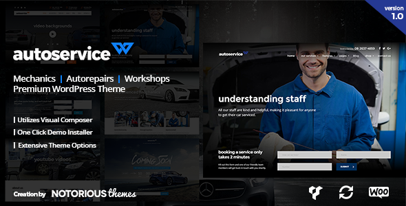 Download AutoService - Car Mechanics, Auto Repairs and Car Workshops WordPress Theme nulled download