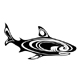 Black shark - GraphicRiver Item for Sale