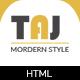 Taj – Responsive eCommerce Bootstrap Template
