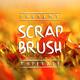 Scrap Brush Typeface