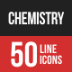 Chemistry Filled Line Icons