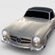 Mercedes 190SL Soft Top rev