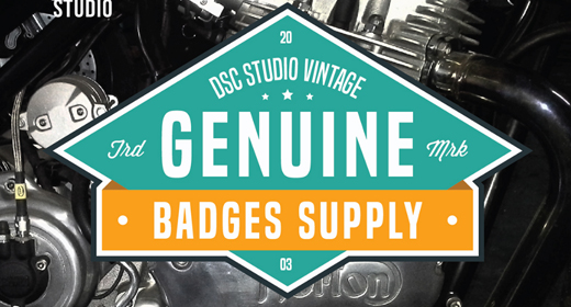 Vintage Retro Badge & Sign