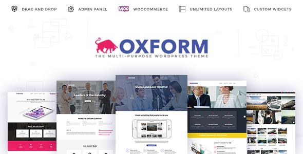 Download Oxform - Creative Multi-Purpose WordPress Theme nulled download