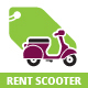 Rent Scooter Logo