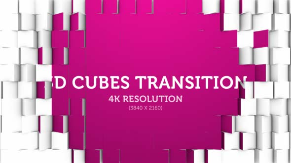 Download 3D Cubes Transition 01 nulled download