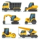 Construction Machines, Heavy Equipment, Vehicles