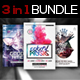 3 in 1 Chill Flyer Bundle Vol. 1