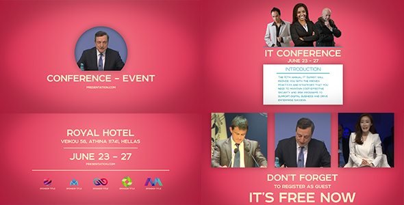 Download Conference | Event Promo nulled download
