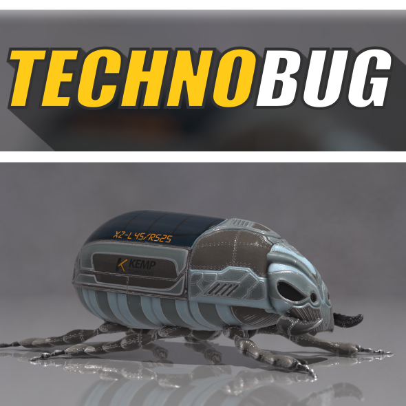 Technobug - 3DOcean Item for Sale