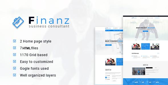 Finanz - Business HTML Template