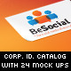 Social Media Corporate Identity Catalog v5 - GraphicRiver Item for Sale