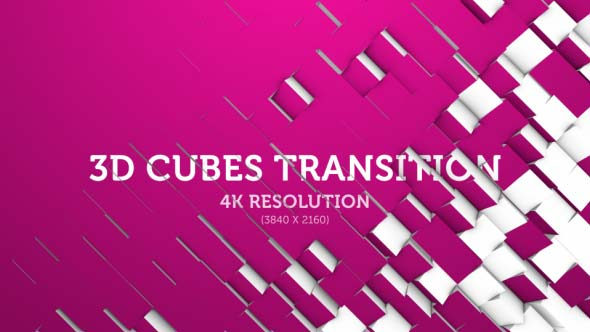 Download 3D Cubes Transition 07 - 4K nulled download