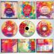 Colorful CD/DVD Album Covers Bundle Vol. 1