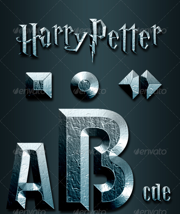 HarryPetter Style - Text Effects Styles