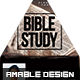 Bible Study Church Flyer/Poster