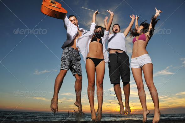 Stock Photo - PhotoDune beach party 1785827