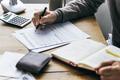 Elderly Man Retirement Inlfe Insurance Deal Concept