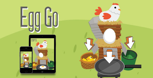 Download Egg Go - HTML5 Game nulled download