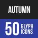 Autumn Glyph Icons