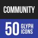 Community Glyph Icons