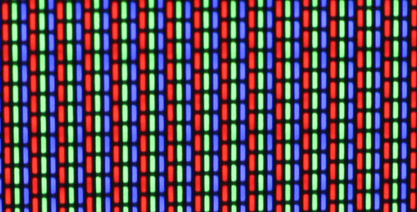 VideoHive Flashing TV Screen Pixels Macro 1786740