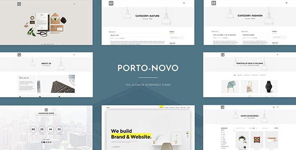Porto-Novo - Clean Multipurpose Theme for Creative Agency & Designers Shops