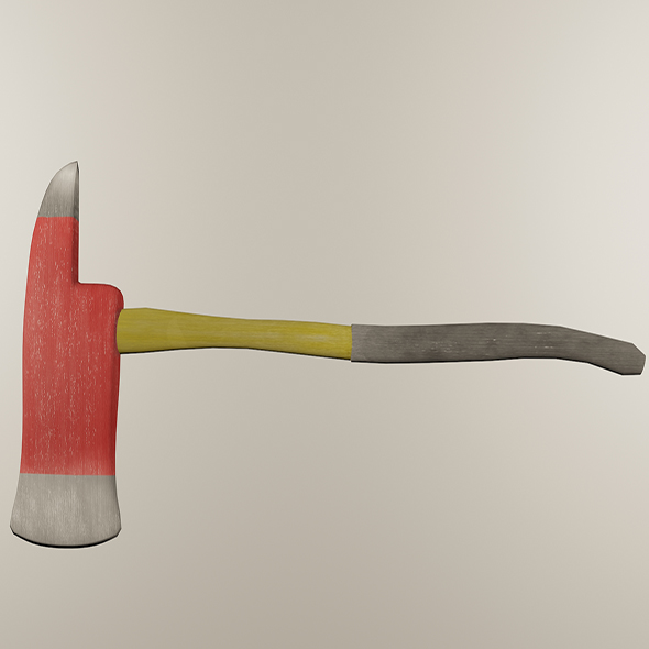 Firefighter Axe - 3DOcean Item for Sale
