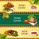 Polish Cuisine Banners For Restaurant Menu Design