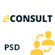 CONSULT - Consultant Business PSD Template