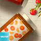 Natural Fruit Juices Seamless Patterns Vol01